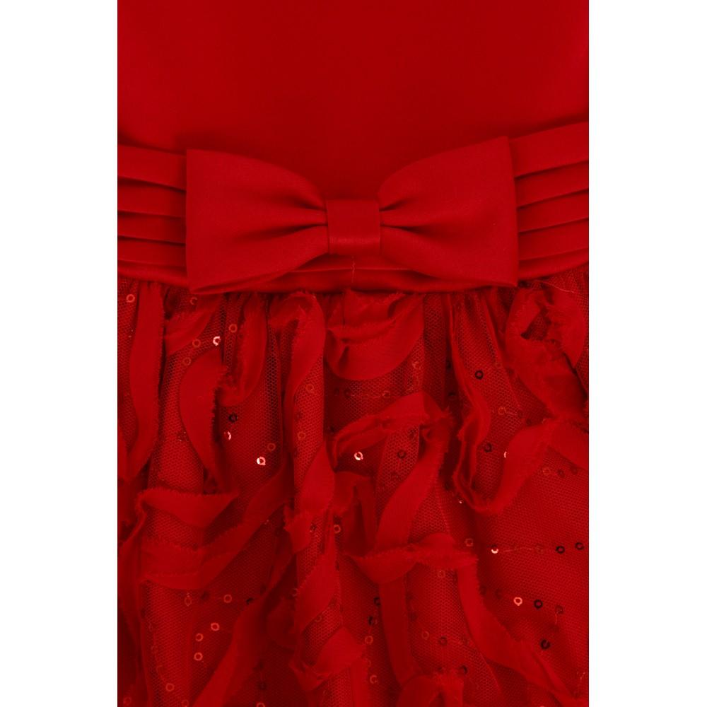 344250bf4f49 Pascal kjole med sløyfe rød