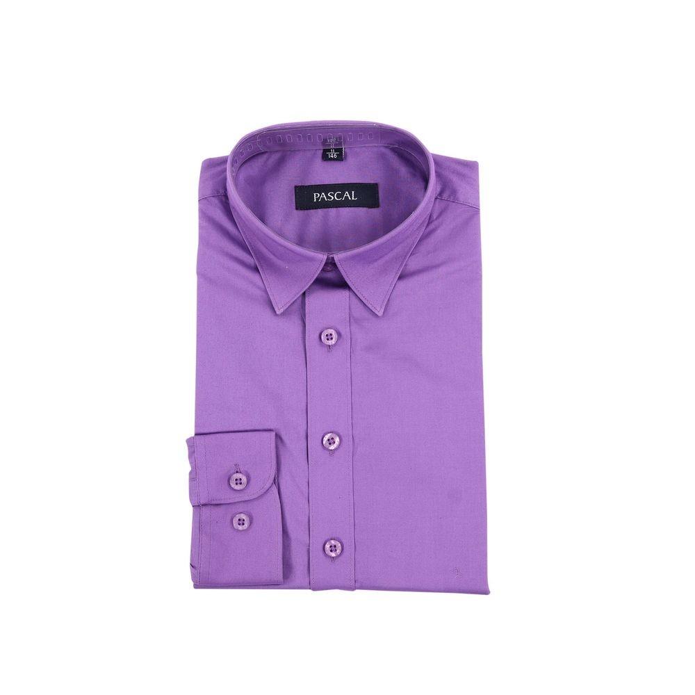 Pascal skjorte mørk lilla | Barnebutikk på nett